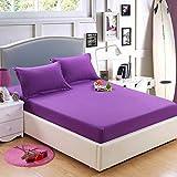 Se Utiliza para una Sola Pieza 1.3 Dibujos Animados 2 m 2.2M1.8 Cubierta de colchón para bebé Infantil Cubierta de Cama Cubierta de Cama de 200 cm x 200 cm púrpura Oscuro
