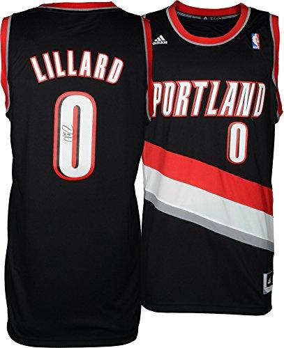 Damian Lillard Portland Trail Blazers Autographed adidas Swingman Black Jersey - Fanatics Authentic Certified