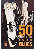 50 Linee Du Basso Blues: Noten, CD, DVD (Video) für Bass-Gitarre