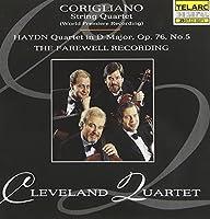 Cleveland Quartet: The Farewell Recording
