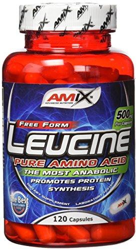 Amix L-Leucine Pure 120 Capsulas 0.2 200 g