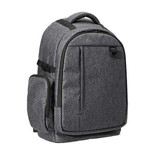 Amazon Basics DSLR Camera Backpack (High Density Water-Resistant 840D Polyester) - Ash Gray