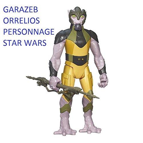 Figura Star Wars Rebels: Garazeb Orrelios. Dim: 30,5 x 16,5 x 6,5 cm.