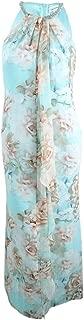 Best calvin klein floral draped chiffon halter gown Reviews
