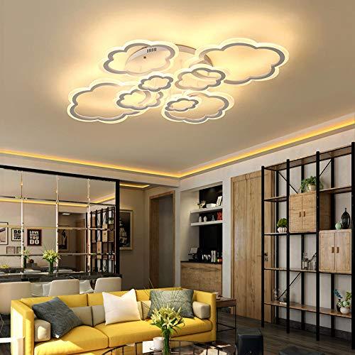 Moderne schijnwerperverlichting voor levende, moderne, gedraaide lampbevestigingen van de werkkamer slaapkamer Ac85-265 V @witte kleur_1 kop L260Xb170Mm_dimbare Rc