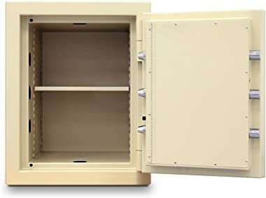 Mesa Safe MTLF1814 All Steel Safe with U.L. listed Group 2 Combination Lock, 11.8-Cubic Feet, Parchment