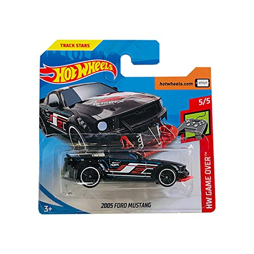 Mattel cars Hot Wheels 2005 Ford Mustang HW Game Over 44/250 2019 Short Card
