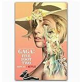 baiyinlongshop Poster Und Drucke Lady Gaga Fünf Fuß Zwei