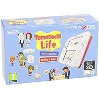 Nintendo 2DS - Consola, Color Rojo + Tomodachi Life (Preinstalado)