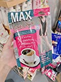Signature Max Curve Coffee 3 in 1 smart coffee elevate weight loss Coffee Slender Coffee Tapered coffee, triple firmware, white limbs, aura, healthy skin, healthy skin (1 Box : 10 sachets)