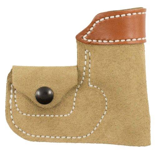 Desantis Leather Ambidextrous Pocket Holster, Tan