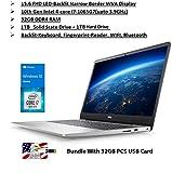 2020 Newest Dell Inspiron 15 5000 Premium Laptop: 15.6 Inch FHD Display10th Gen Intel i7 32GB RAM, 1TB SSD | 1TB HDD WiFi Bluetooth HDMI Backlit-KB FP- Reader Win10 32GB PCS USB Card