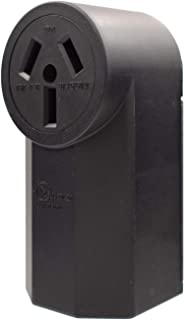 AIDA 50 Amp 125/250 Volt 10-50R 3-Pole, 3-Wire Surface Mount Power Outlet, Back Wire, AL/CU, UL Listed, 030706