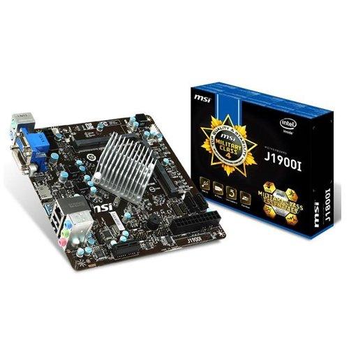 MSI J1900I Mainboard (Intel Celeron J1900, VGA, DVI, HDMI)