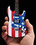 Axe Heaven: Fender Strat Stars & Stripes Usa Miniature Guitar Model. para Guitarra Electrica