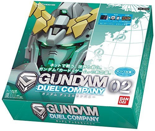 Net Carddas Gundam Duel Société 02 [GN-DC02] [BOX]