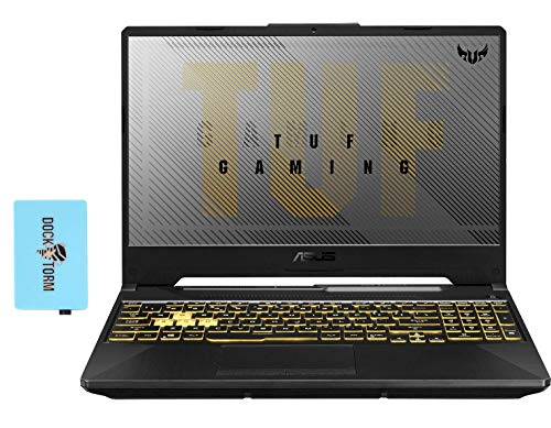 """Asus tuf a15 fa506iv gaming and entertainment laptop (amd ryzen 7 4800h 8-core, 32gb ram, 512gb pcie ssd + 1tb hdd, nvidia rtx 2060, 15. 6"""" full hd (1920x1080), wifi, win 10 home) with usb hub"""
