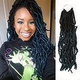 FASHION IDOL Nu Faux Locs Crochet Hair 6...