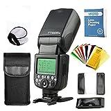 Godox TT685 O TTL Maestro-Esclavo GN60 2.4G Transmisión HSS 1 / 8000S Flash Speedlite con Flash Filtros de Color para Olympus Y Panasonic DSLR Cámaras (TT685O)