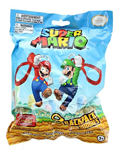 Super Mario Bros. Tas Clip Buddies - Rollo verpakkingen, modellen gesorteerd