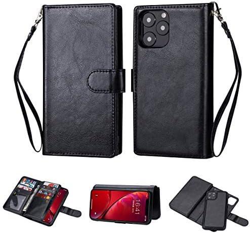 Black Sales Friday Deals Cyber Sales Monday Deals iPhone 11 Wallet Case 2 in 1 Detachable Premium product image