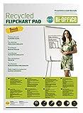 Bi-Office Earth - Blocco di Carta Riciclata Per Portablocco, A1 Forato con 2 Fori Standard...