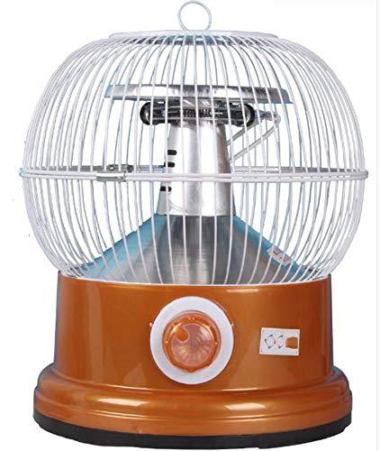 NFJ Elektroheizer Heizlüfter Heizgerät,Vogelkäfig Heizung Backofen Kleine Solar Heizung Desktop Energiesparende Geschwindigkeit Vogelkäfig Heizung Neujahr Geschenk,D