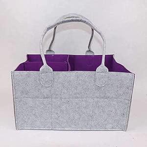 terilizi Storage Bag  Storage Bag Storage Bag Baby Diaper Cosmetics Bathroom Wardrobe Toy A 34 24 18Cm