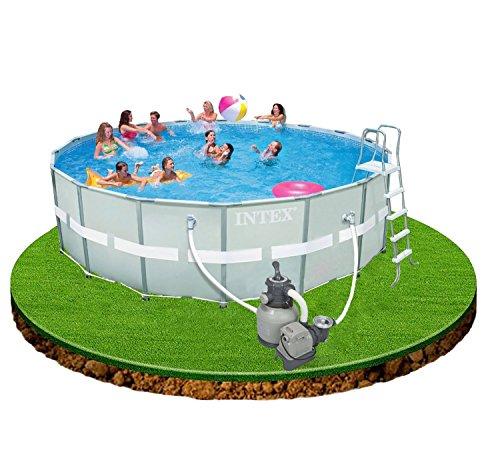 Intex 12–54956Ultra Rondo II Frame Pool Set, 549x 132cm