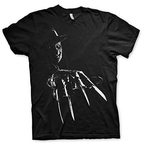 Officiële Freddy Krueger 3XL, 4XL, 5XL heren T-shirt (zwart)