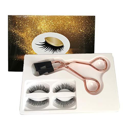 Magnetic Lashes Clip Eyelashes Set,8D Quantum Magnetic Eyelashes with Soft Magnet Technology, Reusable Magnetic Eyelash Bushy Set