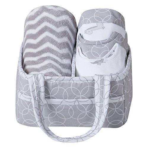 Safari Chevron 6 Piece Baby Care Gift Set