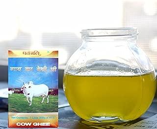 Patanjali Cow's Pure Butter (Desi Ghee), 1 Ltr