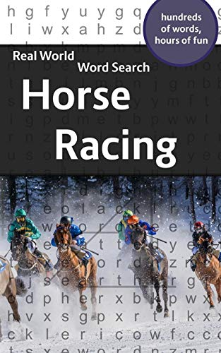 Compare Textbook Prices for Real World Word Search:  Horse Racing  ISBN 9781081820077 by Kundell, Arthur