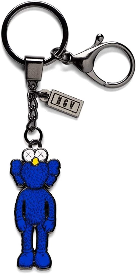 KAWS Blue BFF Keyring Keychain NGV