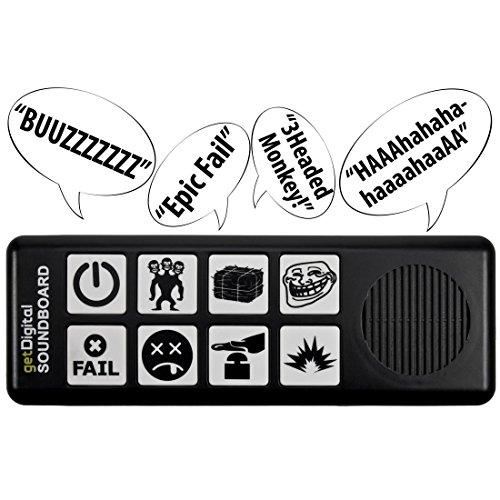 Soundboard mit 8 Soundeffekten