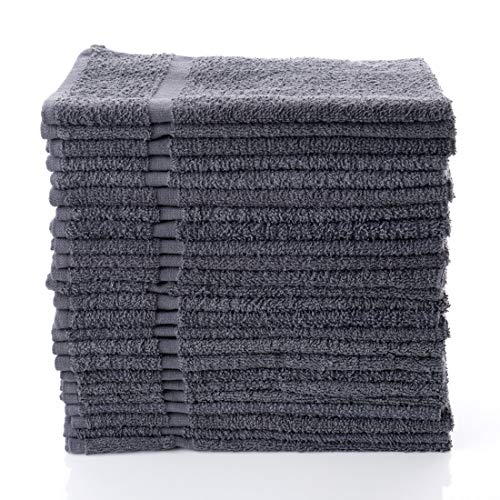 "Simpli-Magic 79250 Hand Towels, 16""x27"", Gray 12 Count"
