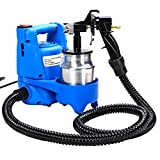 650w Electric Paint Painting Sprayer Gun 3-ways W/copper Nozzle+cooling