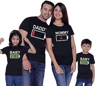 6fb8b5d68 Traje de Manga Corta con Estampado Familiar Ropa Estampada Entre Padres e  Hijos Daddy Mommy Camisetas