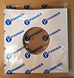 7 Inch White Paper Sleeves Pack of 50