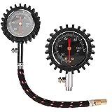 Duokon Manometri per pneumatici, manometro universale per pneumatici per auto Barometri ad...