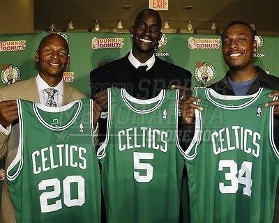 Boston Celtics Ray Allen Kevin Garnett Paul Pierce 2 8x10 11x14 16x20 photo 085 - Size 8x10