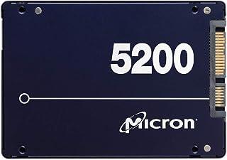 "Micron 5200 MAX 1.92TB 2.5"" SATA3 6Gbps 5DWPD SSD 3D TLC NAND 540R/520W MB/s 95K/70K IOPS 7mm Server Data Centre 3 Mil hrs..."