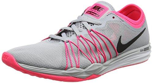 Nike Dual Fusion TR Hit, Zapatillas de Running Mujer, Gris (Wolf...