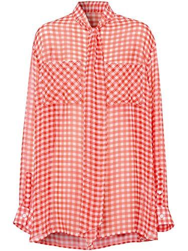 BURBERRY Luxury Fashion Damen 4564509 Rot Seide Hemd | Frühling Sommer 20