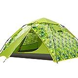 HUIYAN Camping Zelte 3-4 Personen Kuppelzelt | Sofortige Automatische Regen Outdoor-Camping-Zelt...