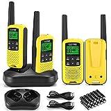 Walkie Talkies - COTRE Two Way Radios, Up to 32 Miles Long Range USB Rechargeable Walkie Talkies w/...
