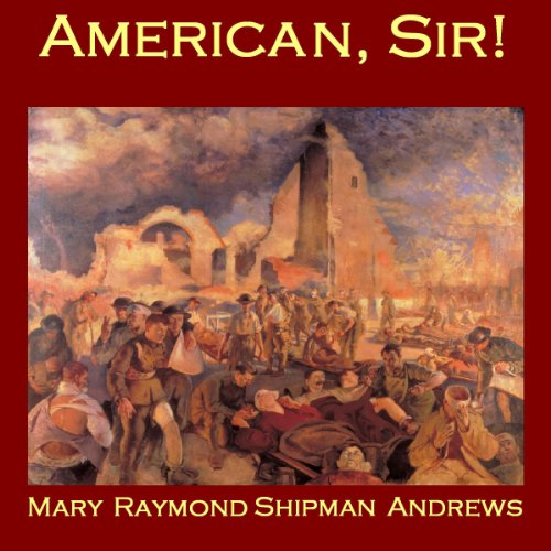 American, Sir! audiobook cover art
