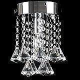 No-branded Llevó la lámpara de Las lámparas LED de Acero Inoxidable, Luces Led cenar Lámparas Led habitación K9 E14 LED de luz Lustre Candelabros YFJFJ Tienda