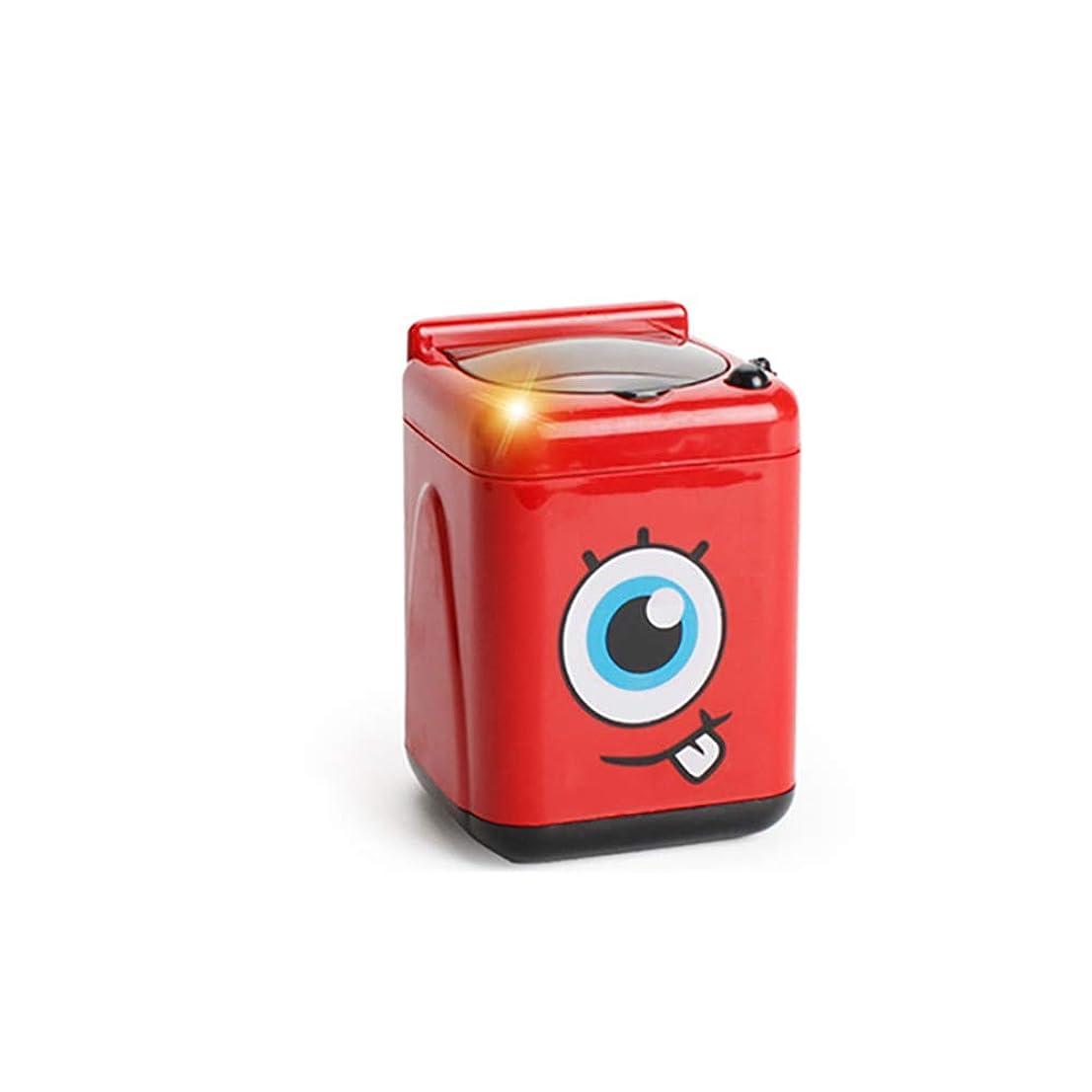 サバント冗談で漂流メイクアップブラシ洗浄機ミニ自動メイクアップブラシクリーナー装置メイクアップブラシを清潔に保ちます